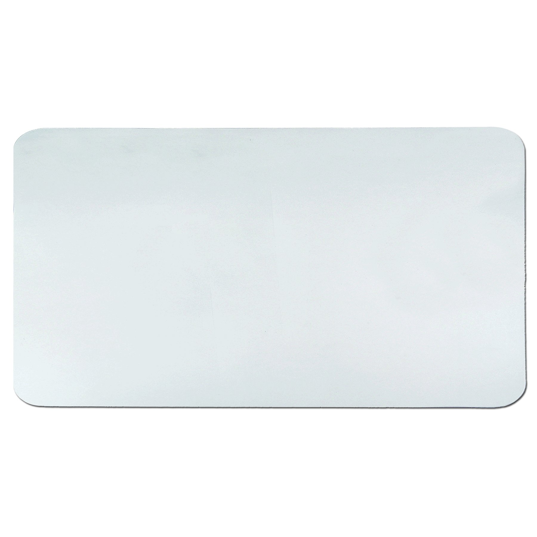 Artistic 20'' x 36'' Krystal View Clear Antimicrobial Desk Pad Organizer with Microban, Clear