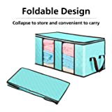 Large Foldable Storage Bags, [3-Pack] Senbowe