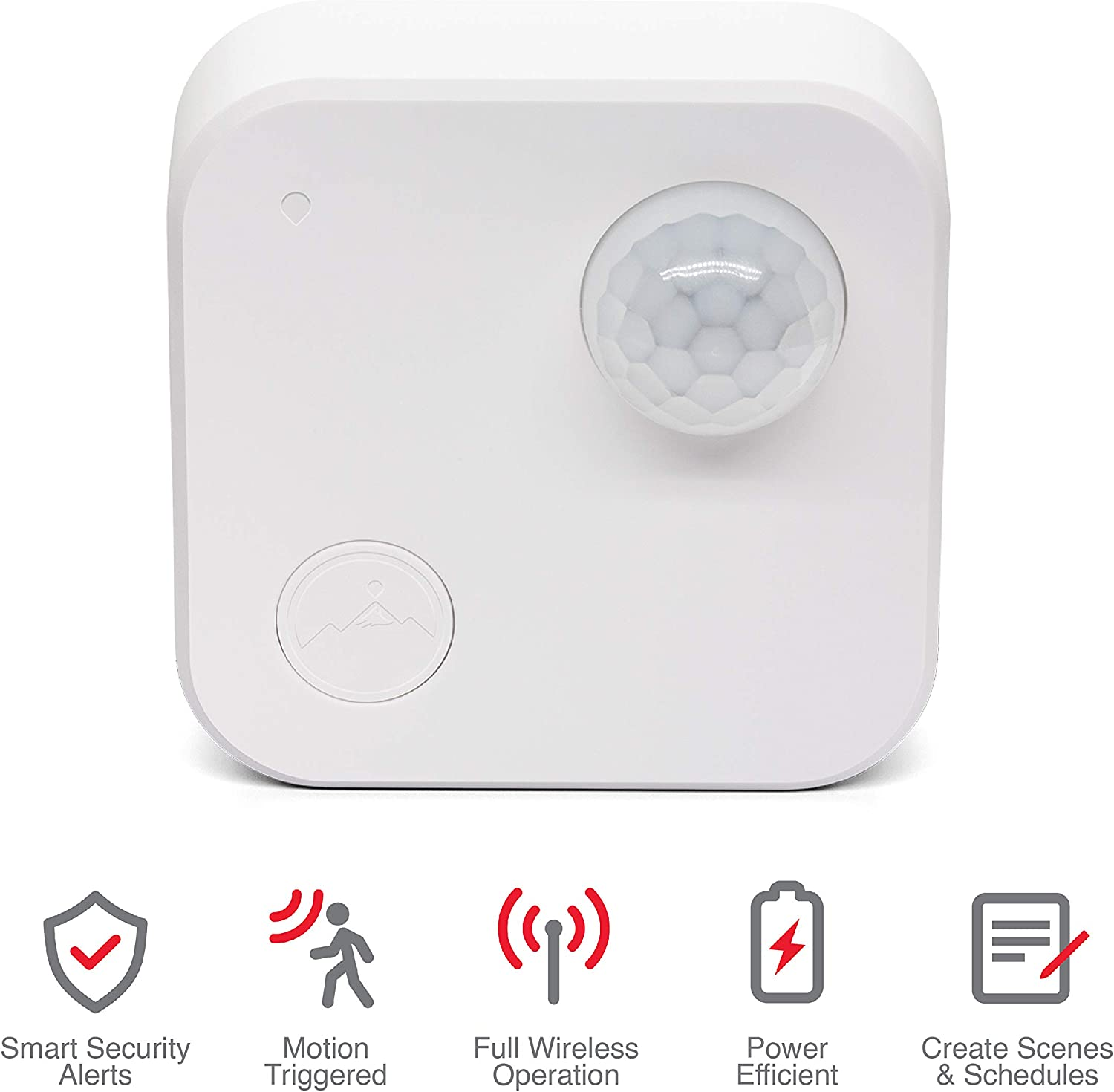 Fox Summit WiFi Indoor Motion Sensor, WiFi Enabled Battery Operated Smart Sensor, Home Security Motion Detector, No Hub Required 4PK