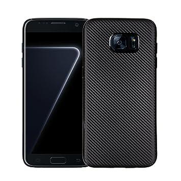 Funluna Galaxy S7 Edge Funda - Amortiguador de Parachoques con ...