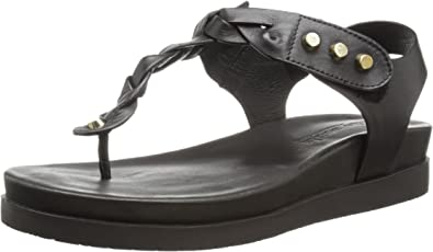 Gentle Souls Womens Seagol Leather Thong Sandal Shoe