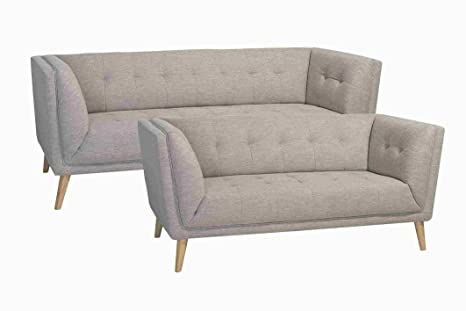Enjoyable Pkline 3 Sitzer Sofa Prim In Beige Couch Couchgarnitur Bralicious Painted Fabric Chair Ideas Braliciousco
