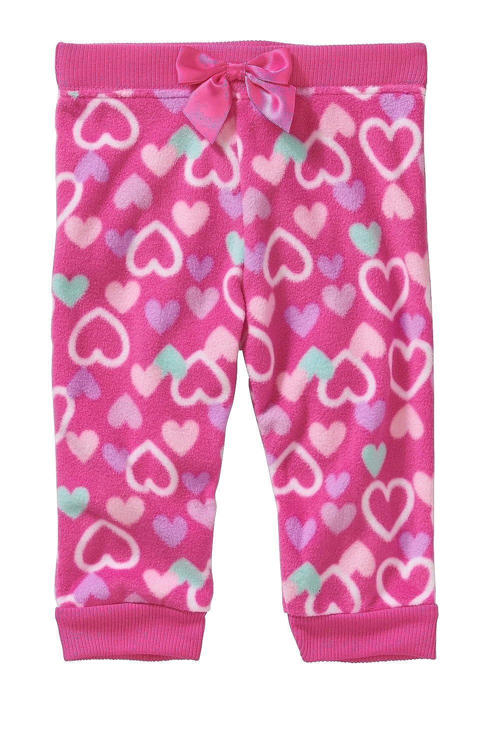 5ff9a4dbb7c Amazon.com  Garanimals Baby Girls  Micro Fleece Pants Bottoms  Clothing