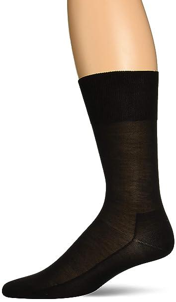 ALBERT KREUZ calcetines negros de lujo para hombre de 98/% seda Made in Germany