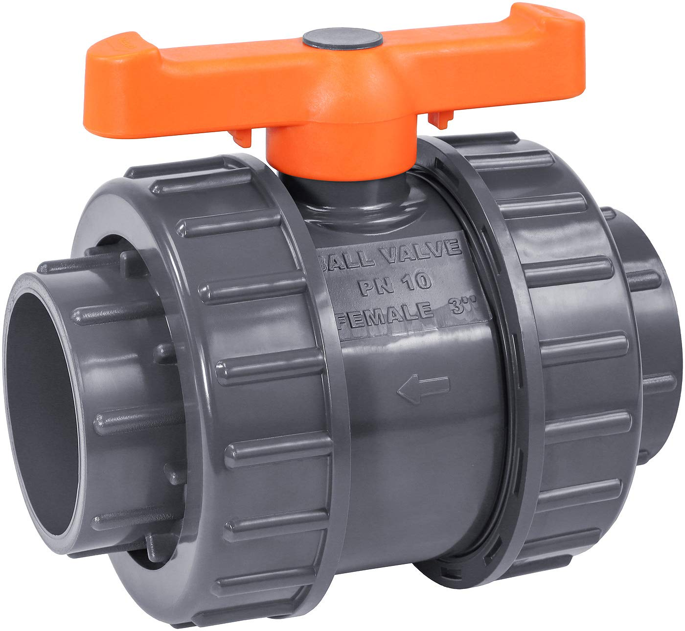 IrrigationKing RKBV3O Double Union PVC Award Slip Weld Deluxe Valve 3