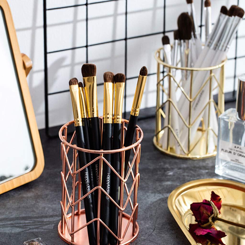 RKY Stiftschale Aufbewahrungsfass Eimer Make-up Pinsel niedlich Mädchen Mädchen Mädchen Speicher Make-up Make-up Werkzeug Fass Stifthalter Multifunktions-Speicherrohr  -  (Farbe   B) B07NVGC4KV     | Elegantes Aussehen  0ef799