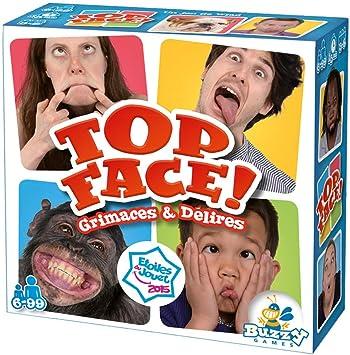 Buzzy Games- Top Face (Nueva versión) - Juego de Mesa BUZ005TO, Multicolor: Amazon.es: Juguetes y juegos