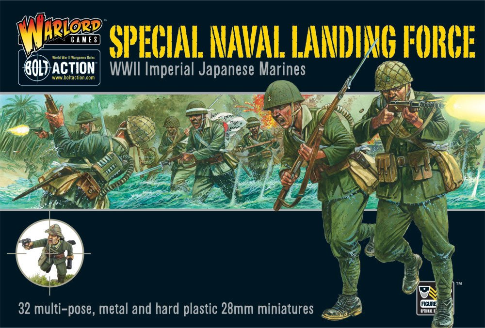 Special Naval Landing Force Miniatures Warlord Games