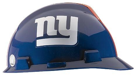 ca045f0f MSA 818403 NFL V-Gard Protective Cap, New York Giants