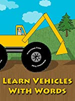 Learn Vehicles With Words