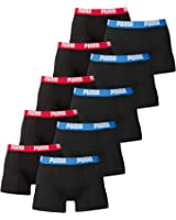 PUMA Herren Basic Boxer Boxershort Unterhose 10er Pack