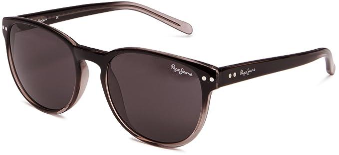 8581315f64 Pepe Jeans PJ7098 - Gafas de sol para mujer con montura redonda, color negro:  Amazon.es: Ropa y accesorios