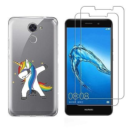 Huawei Y7/Y7 Prime (2017) Funda Shy pony Soft Transparente ...