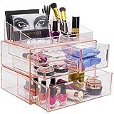 Sorbus Acrylic Cosmetics Makeup and Jewelry Storage