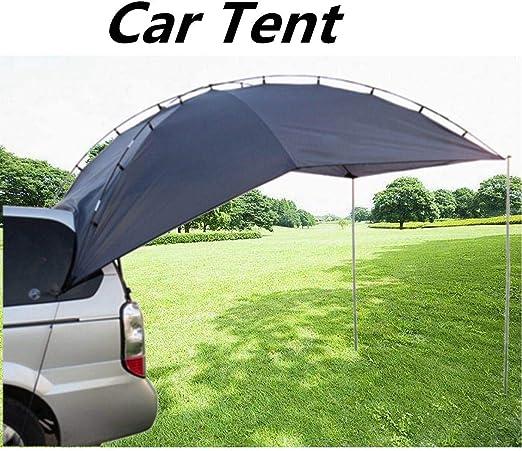 Haga Carport Carpa portátil para techo de coche, equipo al aire libre, tienda de campaña, toldo para coche, cola, cobertizo, toldo para coche: Amazon.es: Jardín