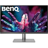 "BenQ PD2720U Thunderbolt 3 Monitor for Graphic Design, 27"" 4K HDR UHD, P3"