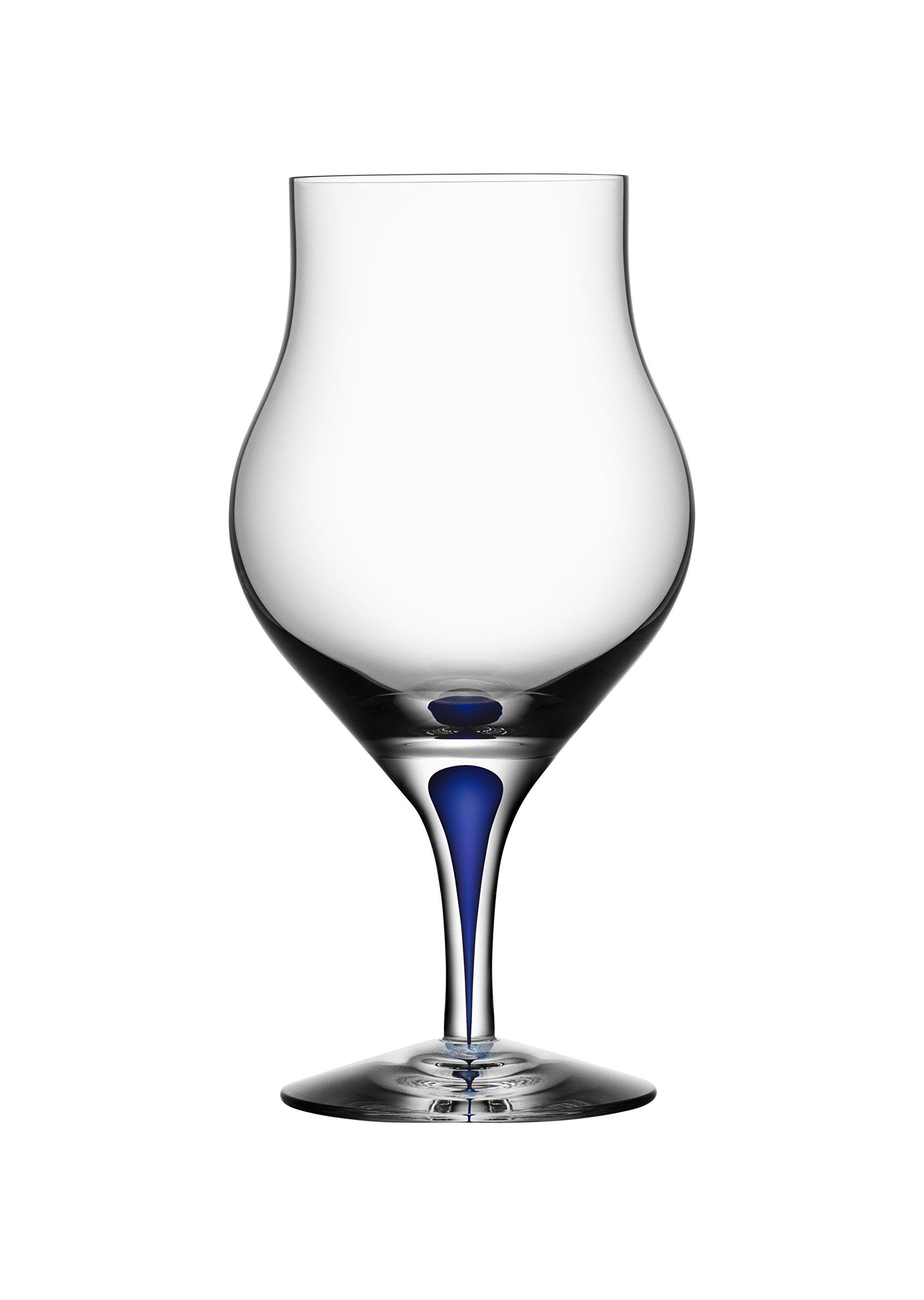Orrefors Intermezzo Blue 8.6 Ounce Snifter