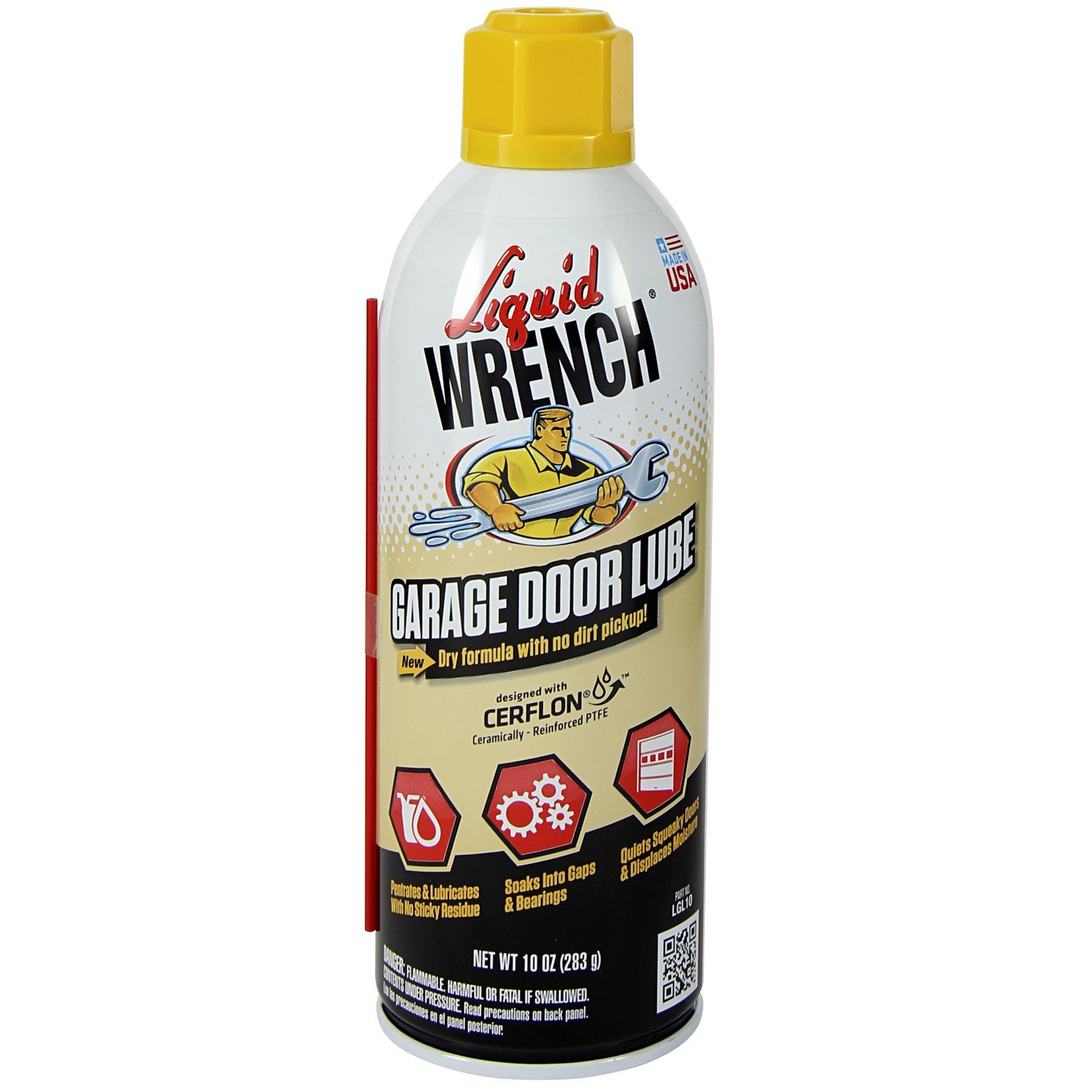 Amazon liquid wrench lgl10 garage door lube 10 oz automotive rubansaba