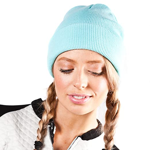 Unisex Mint Slouch Knit Fashion Beanie Hat at Amazon Women s ... 35966f6c52a