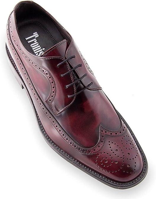 Jivana Chaussures de Ville /à Lacets pour Homme