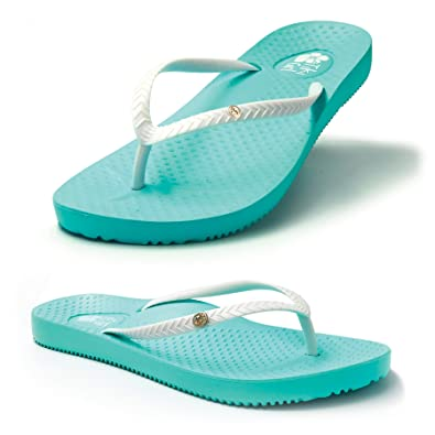 "96fa478aca2aca FootActive ""Tiki Girl"" Orthotic Flip-Flops - Great-Looking Flip-Flops with  Amazing Cushioning and Biomechanical Arch to Support feet and Provide  Relief from ..."