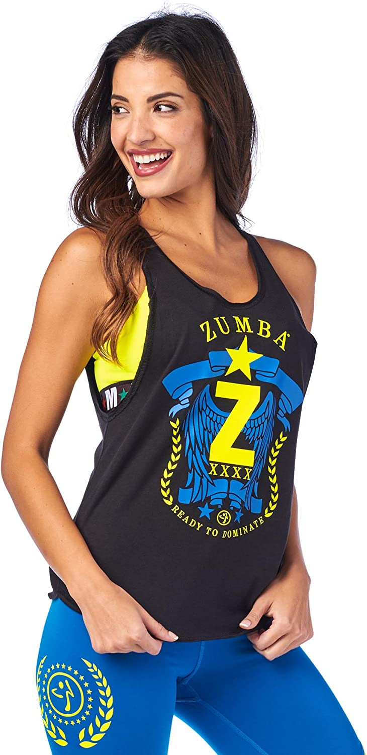 Zumba Breathable Dance Gym Athletic Shirt Loose Tops Workout Muscle Tank for Women Chemise Femme