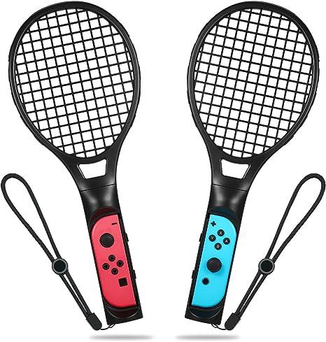 Raqueta de tenis para Nintendo Switch, Raqueta de tenis Yocktec ...
