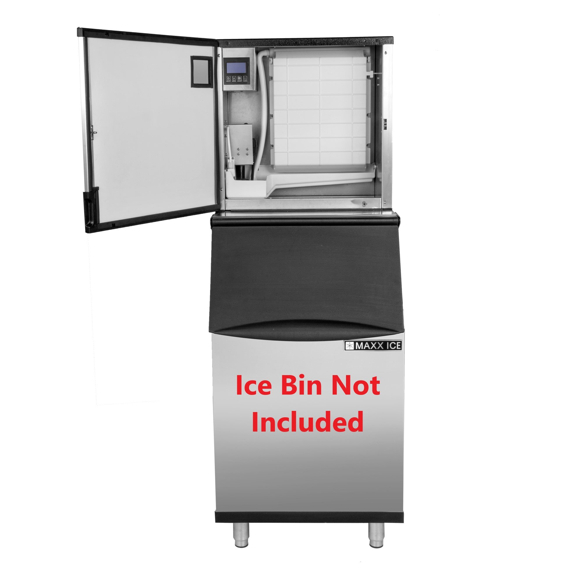 Maxx Ice MIM360NH 22'' Modular Clear Ice Maker Cuber - 360lb Per Day Half Dice - NEW GENERATION by Maxx Ice (Image #4)