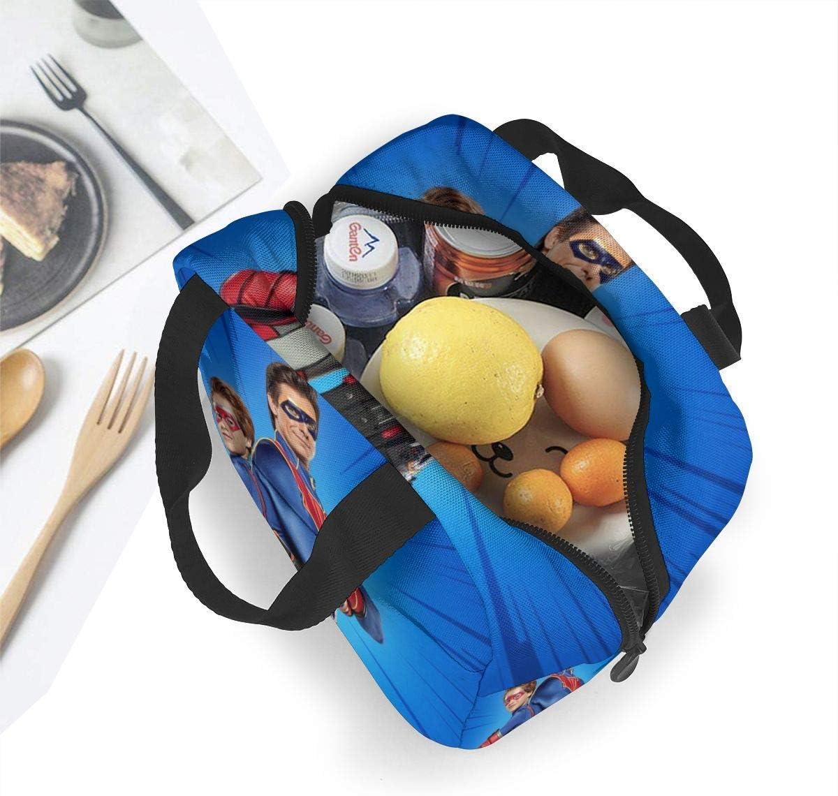 Sunwd Henry Danger Bento Bag Cooler Bag Lunch Box Bolsa de Viaje de Oficina port/átil
