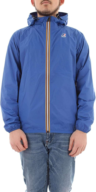 K-Way Mens K004bd0618 Blue Polyamide Outerwear Jacket
