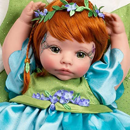 Petal Pixie Paradise Galleries Reborn Baby Fairy Doll 16 inch in GentleTouch™