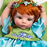 Paradise Galleries Reborn Fairy Doll - Pixie, 19 inch Toddler, GentleTouch Vinyl, Caucasian Skintone, Red Hair, 5-Piece Doll