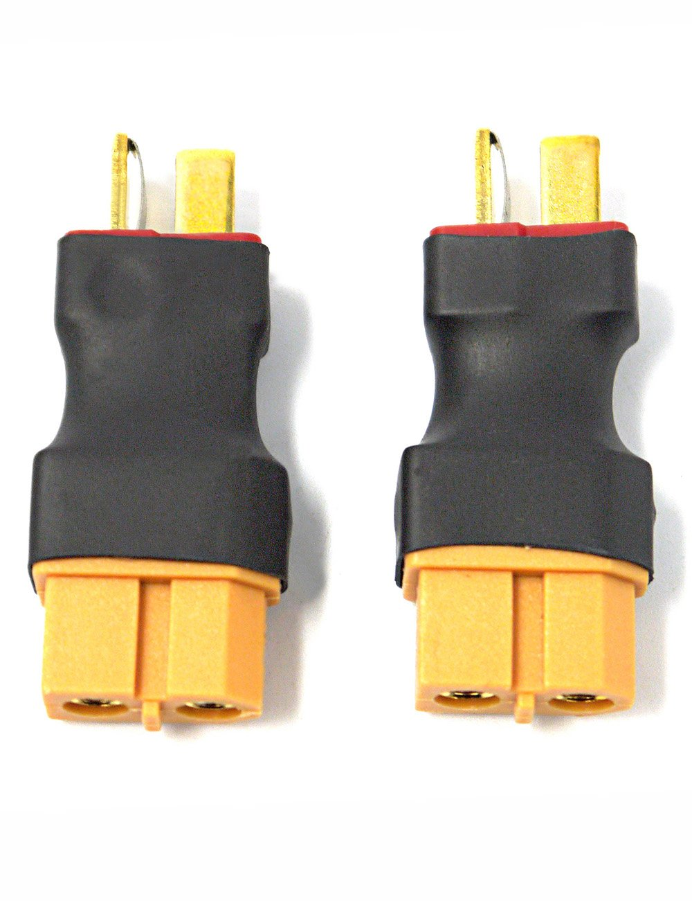 Amazon.com: Readytosky XT60 Female to Male Deans T plug Connector ...
