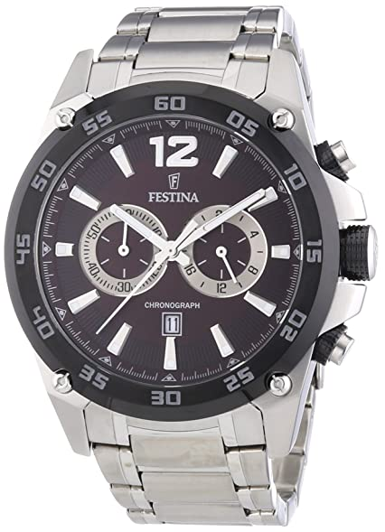 Festina Chrono Sport F16680/3 Mens Chronograph Solid Case