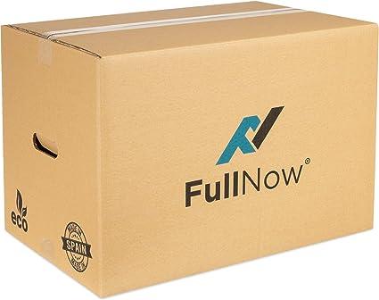 FULLNOW Pack 10 Cajas Cartón Grandes con Asas para Mudanza y ...