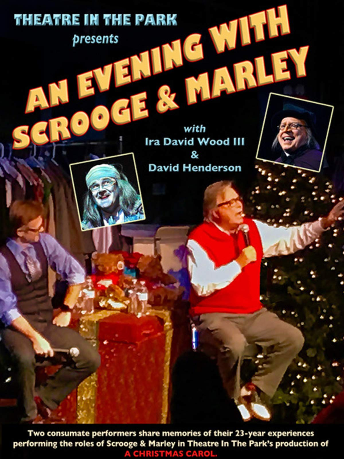 Ira David Wood Christmas Carol 2021 Watch An Evening With Scrooge And Marley Prime Video