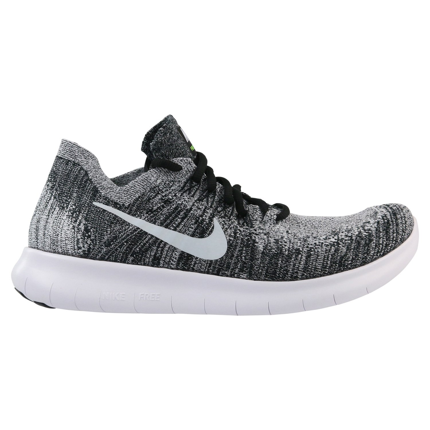 brand new d0087 a3990 Galleon - Nike Men s Free RN Flyknit 2017 Running Shoe (14 D(M) US, Black  White-Volt)