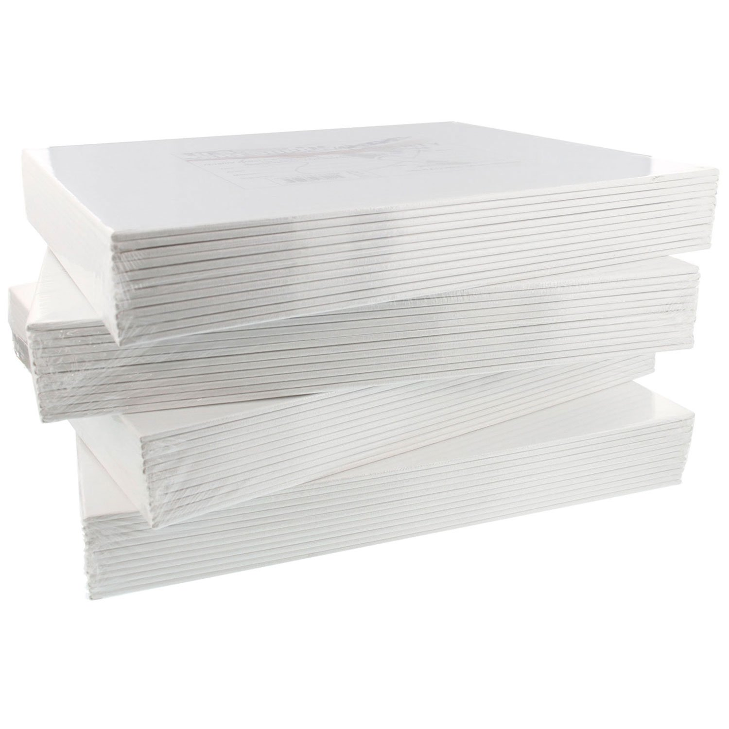 US Art Supply 11 X 14 inch Professional Artist Quality Acid Free Canvas Panels 48-Pack (4 Full Cases of 12 Single Canvas Panels) by US Art Supply (Image #4)