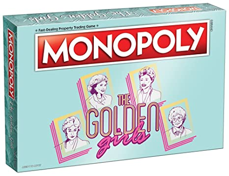Amazoncom Usaopoly Golden Girls Tv Show Themed Game Officially