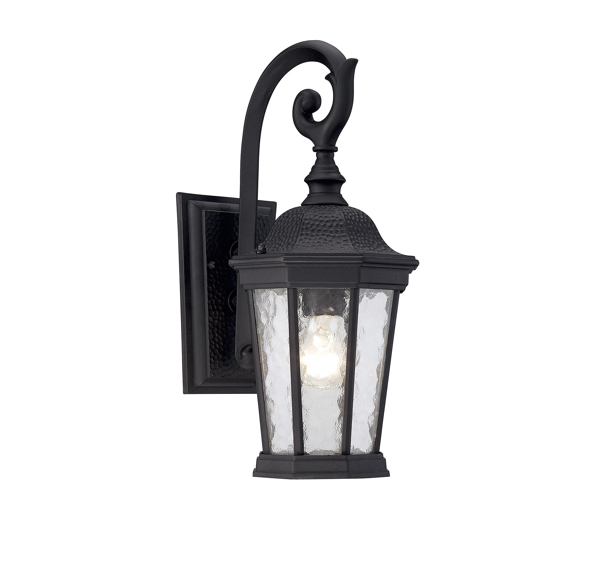 Savoy House 5-5080-BK Hampden Outdoor Wall Lantern in Black