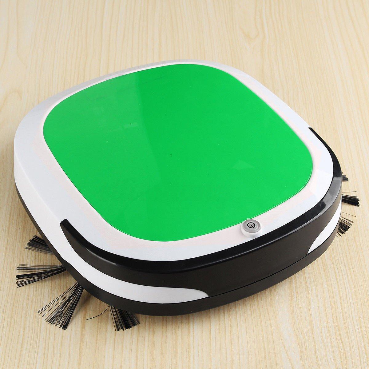 Exclusivo Robot aspirador inteligente automático Silencioso apto para todos los tipos de suelo - doméstico aspira para la limpieza de suelos Cleaning Mop ...