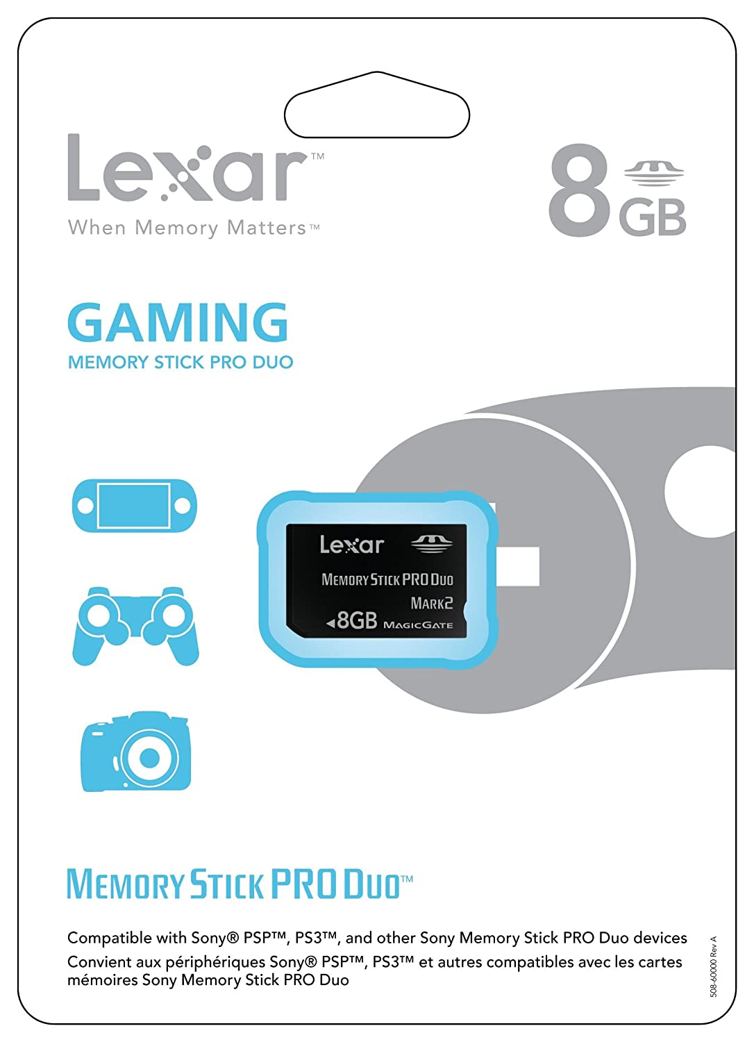 Amazon.com: Lexar tarjeta de memoria flash memory stick pro ...