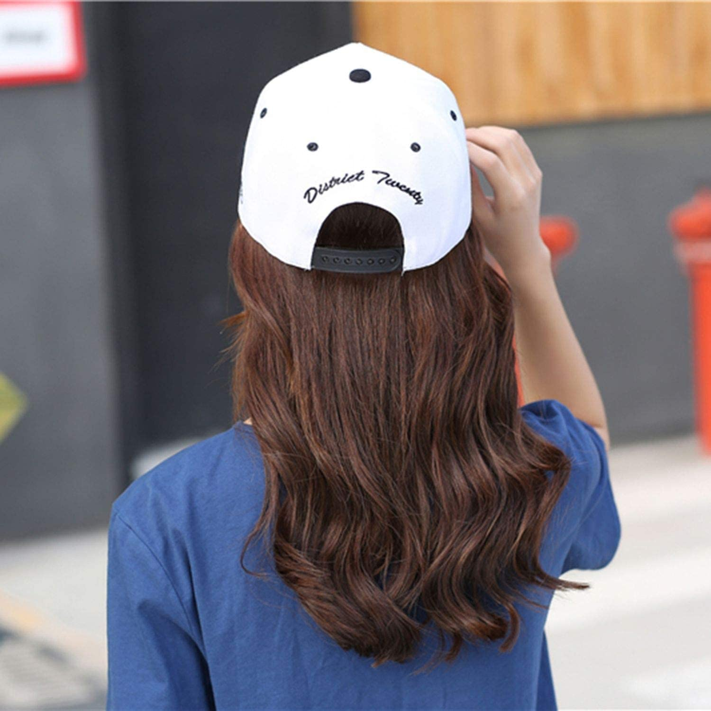 Fashion New Men Women Letters Solid Color Patch Baseball Hip Hop Cap Sun Block Canvas Adjustable Baseball Caps