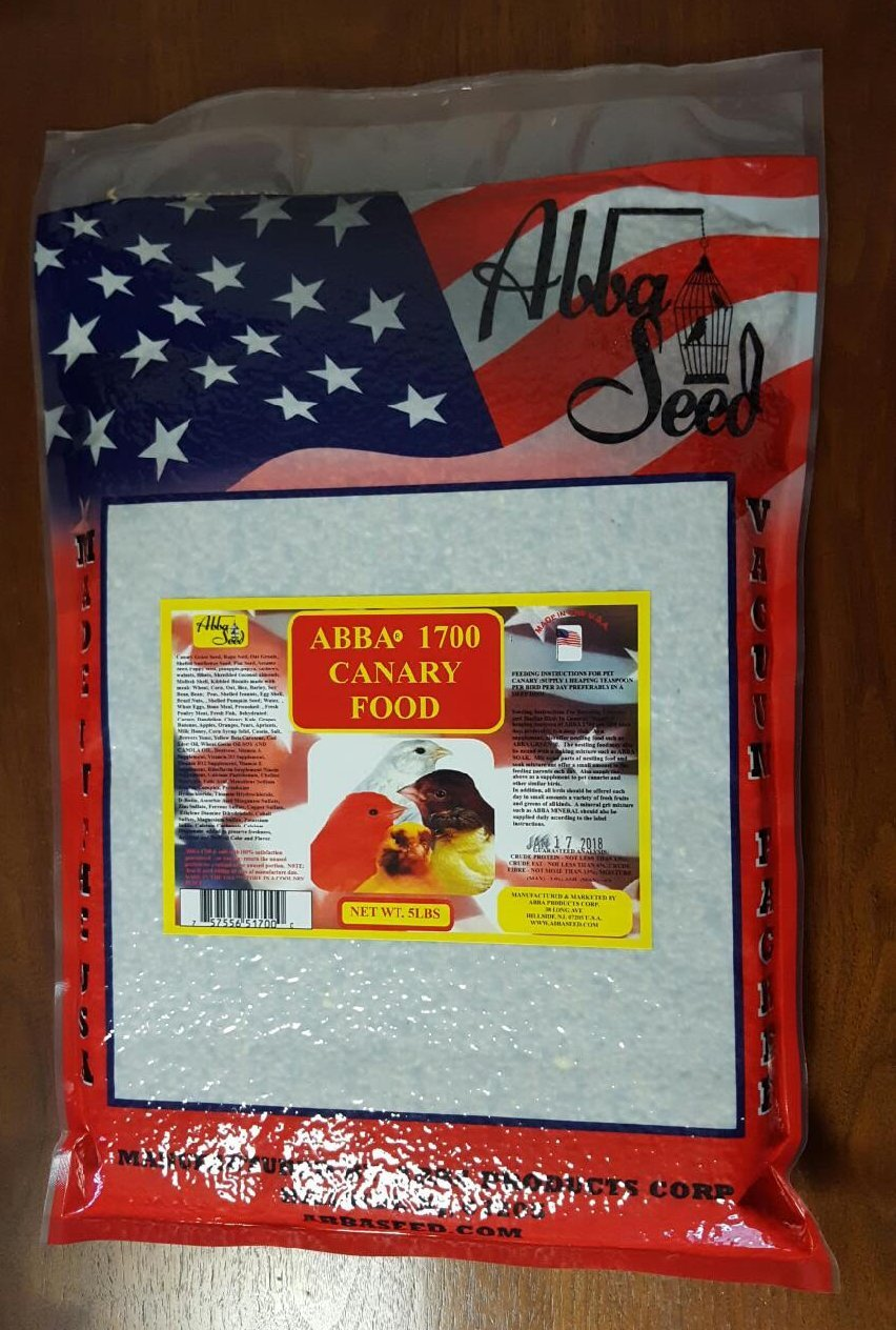 ABBA 1700 Canary Bird Food 5lbs by ABBA