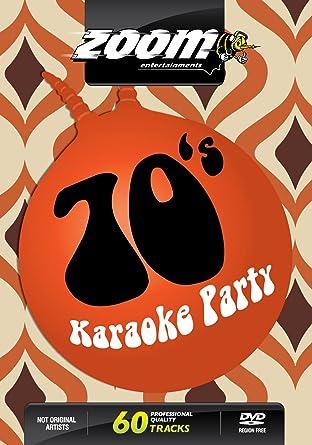 Zoom Karaoke DVD - Seventies Karaoke Party 70's - 60 Songs