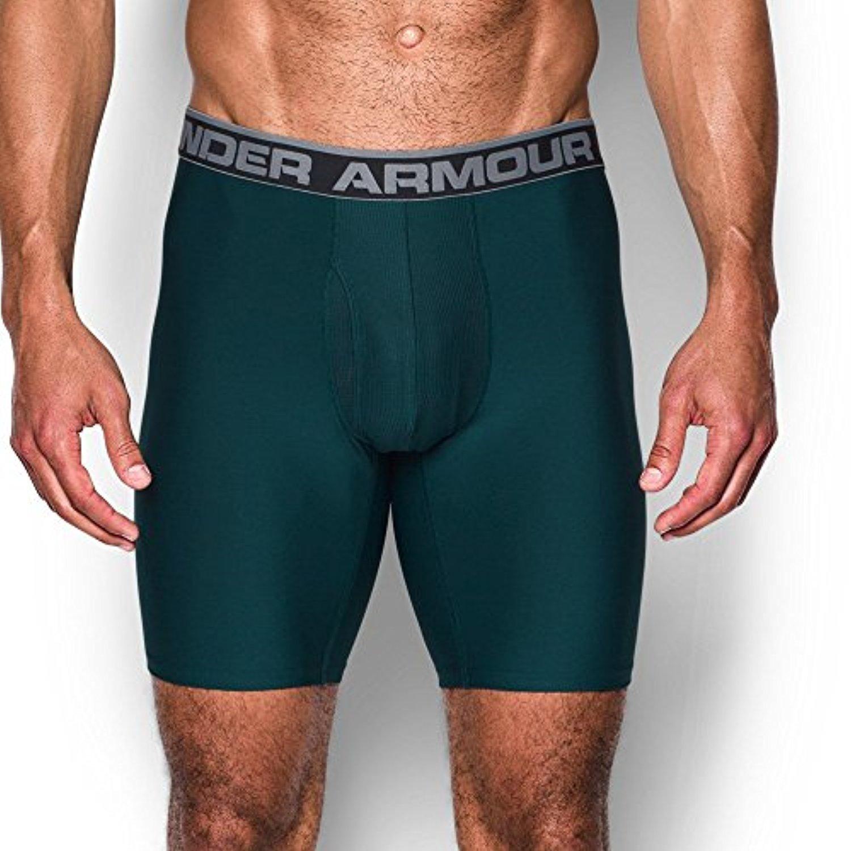(アンダーアーマー) UNDER ARMOUR オリジナルシリーズ9インチボクサージョック(アンダーウェア/MEN)[1277240] B01MAZ5TVG Large Arden Green/Steel Arden Green/Steel Large
