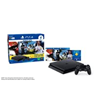 Sony CUH-2014A PlayStation 4 Hits Bundle e 4 Jogos, Preto - PlayStation 4