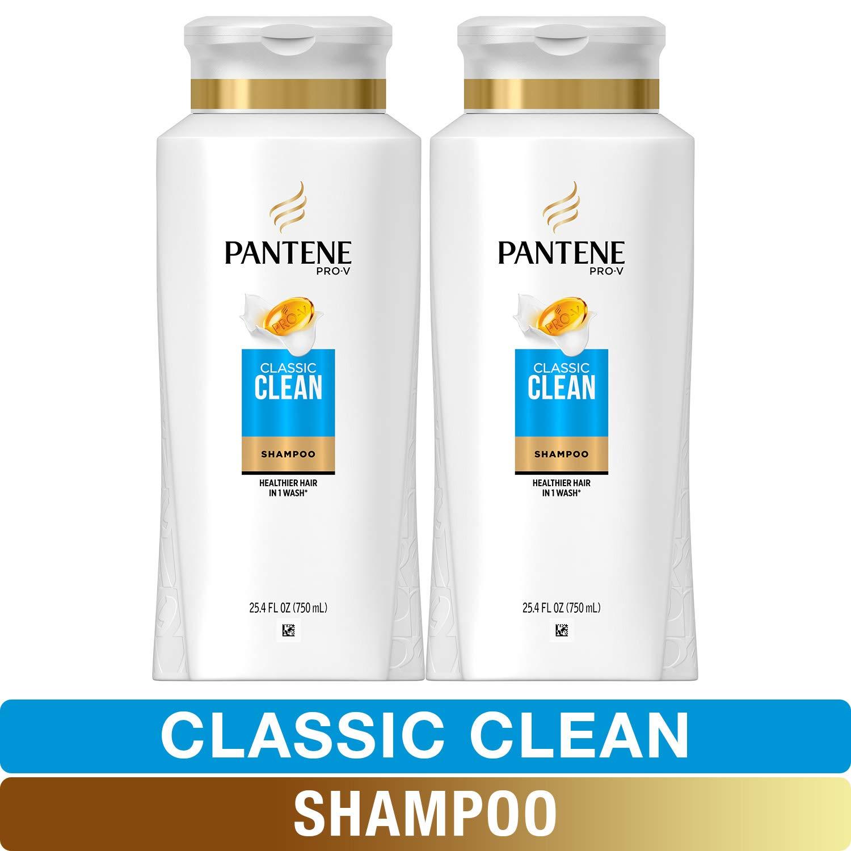 Pantene, Shampoo, Pro-V Classic Clean, 25.4 fl oz, Twin Pack by Pantene
