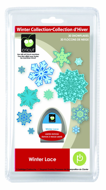 Provo Craft & Novelty Cricut SEASONAL Cartridge Winter Lace 2000539