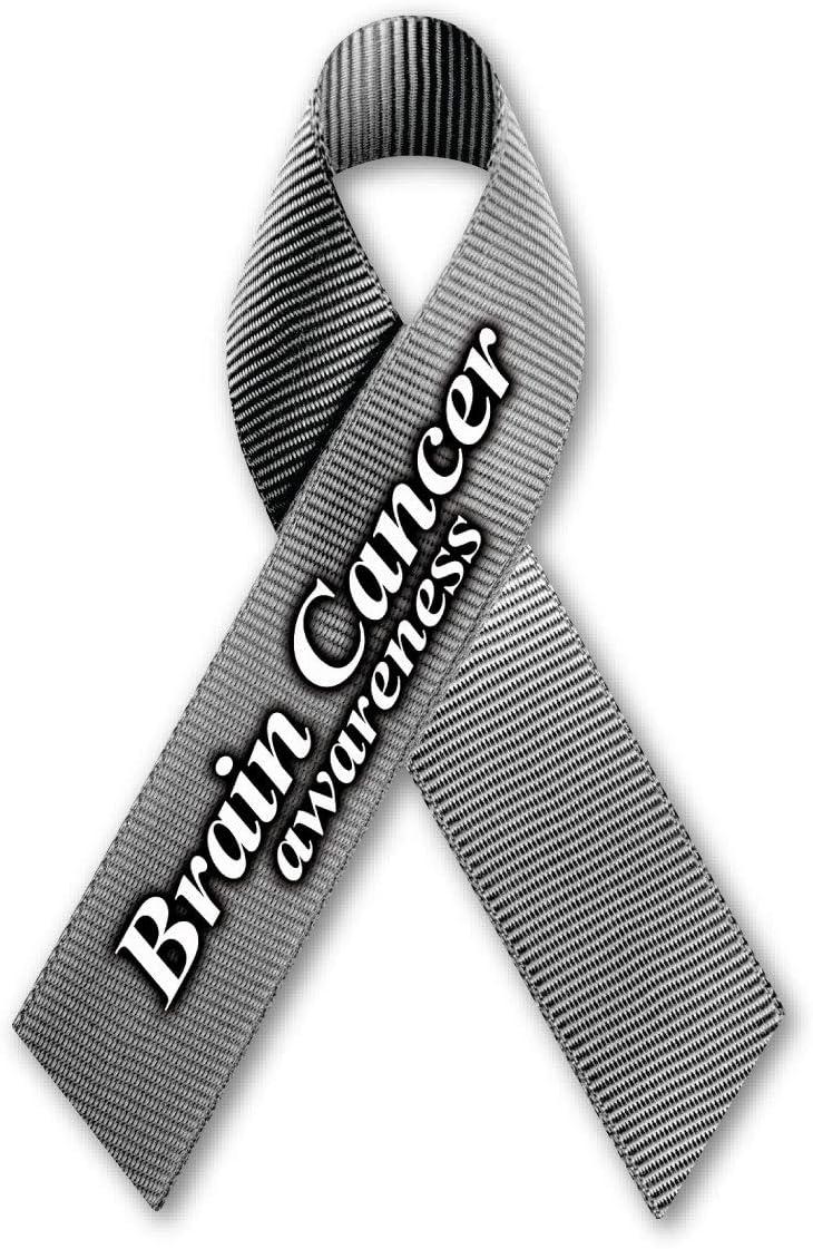 Brain Cancer Awareness Ribbon Magnet